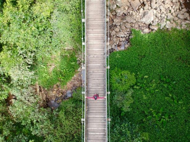 Dorrigo, pont suspendu